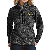 Antigua Women's Loyola Chicago Ramblers Fortune Pullover Black Jacket