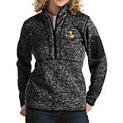 Antigua Women's Loyola Chicago Ramblers Fortune Pullover Black Jacket