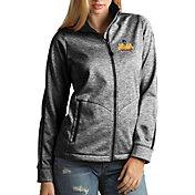 Antigua Women's Loyola Chicago Ramblers Full-Zip Golf Black Jacket