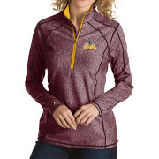 Antigua Men's Loyola Chicago Ramblers Full-Zip Golf Black Jacket