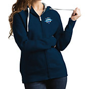 Antigua Women's Villanova Wildcats 2018 Men's Basketball National Champions Victory Full-Zip Hoodie