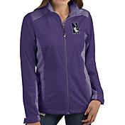 Antigua Women's Northwestern Wildcats Purple Revolve Full-Zip Jacket