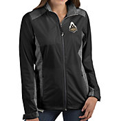 Antigua Women's Purdue Boilermakers Revolve Full-Zip Black Jacket