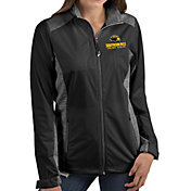 Antigua Women's Southern Miss Golden Eagles Revolve Full-Zip Black Jacket