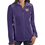 Antigua Women's Washington Huskies Purple Revolve Full-Zip Jacket