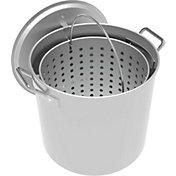 LoCo 42-Quart Aluminum Pot with Strainer