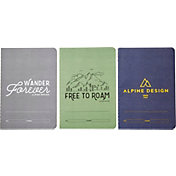 Alpine Design Pack of 3 Field Notebooks