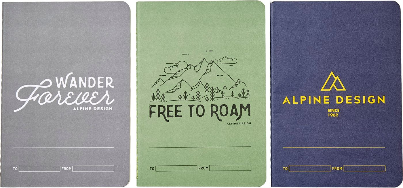 Alpine Design Field Notebooks - 3 Pack