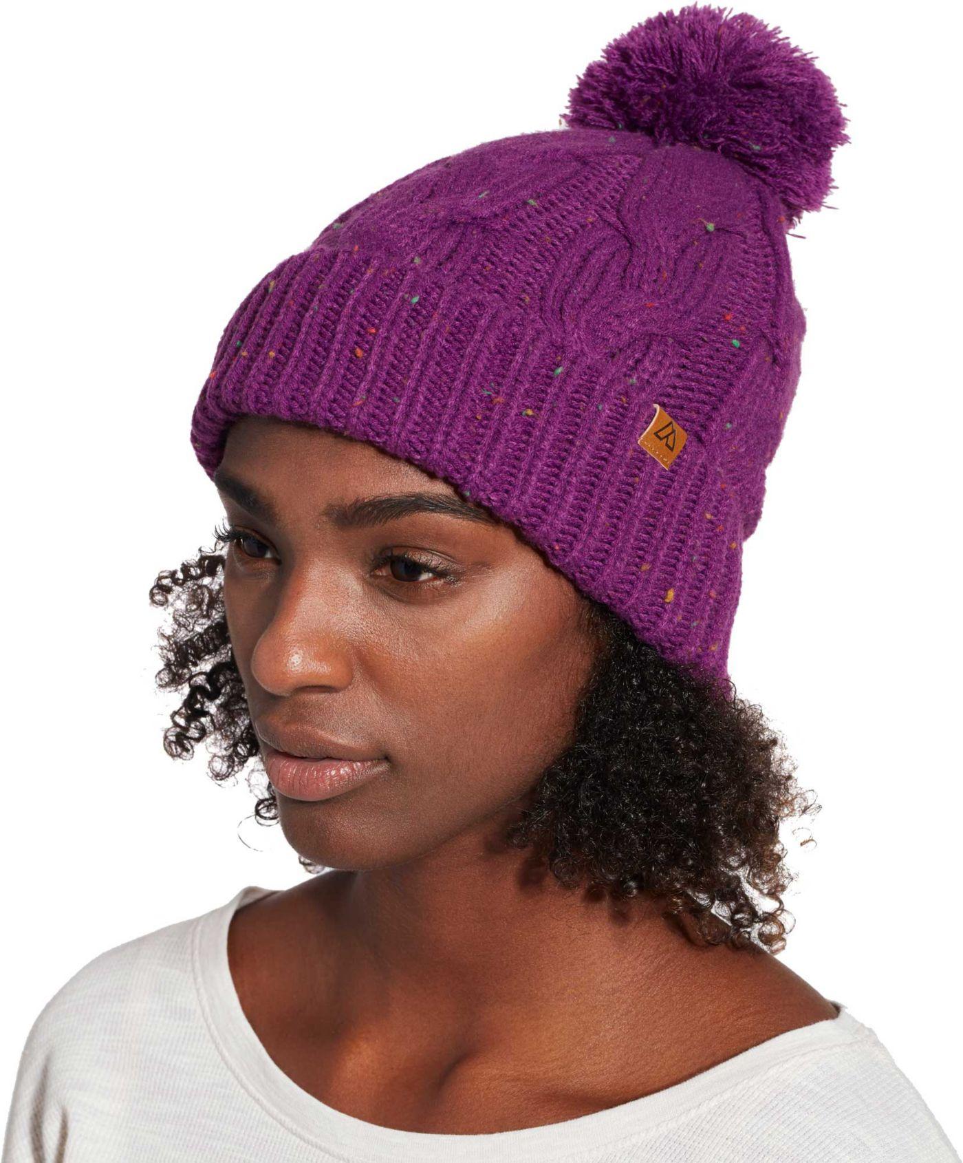 Alpine Design Women's Cable Knit Beanie