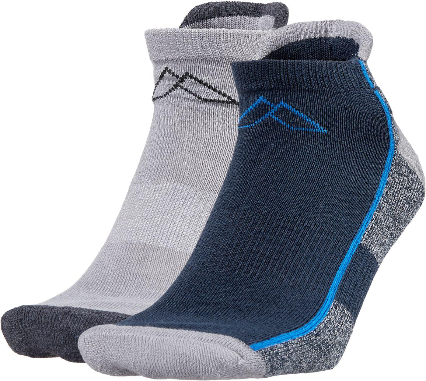 Alpine Design Men's Lowcut Hiking Socks - 2 Pack
