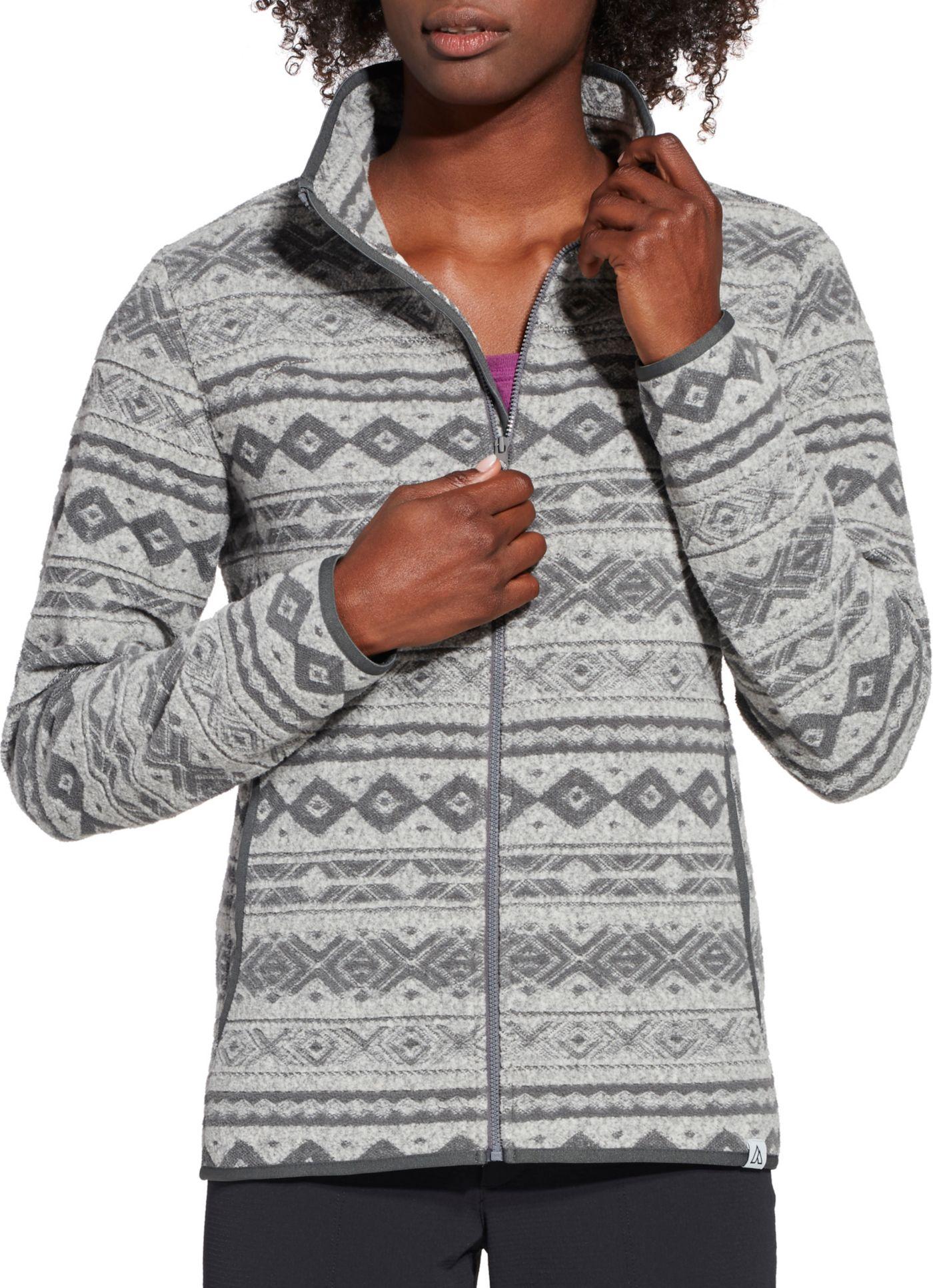 Alpine Design Women's Jacquard Fleece Jacket