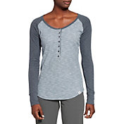 Alpine Design Women's Henley Long Sleeve Shirt