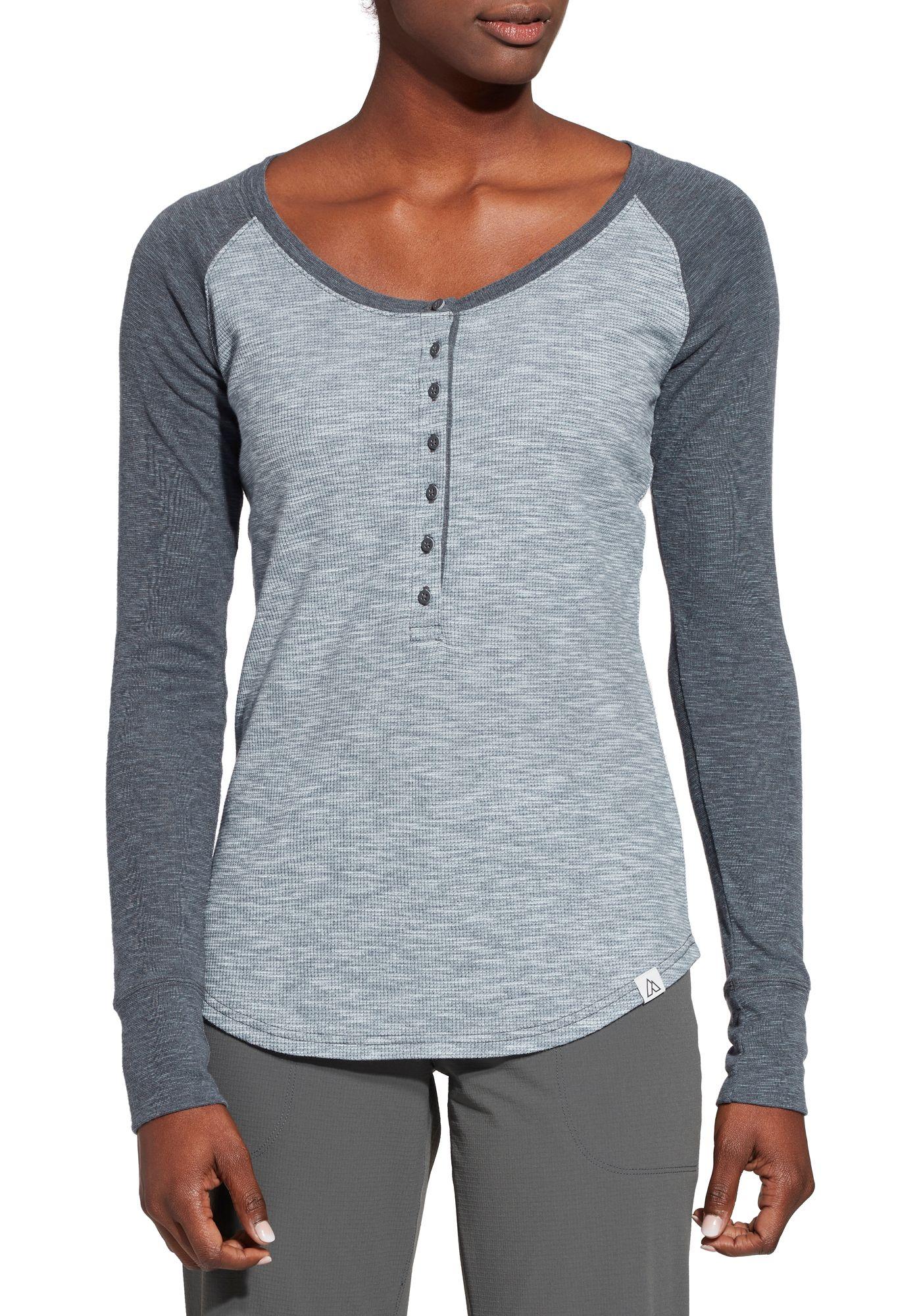 Alpine Design Women's Henley Long Sleeve Shirt