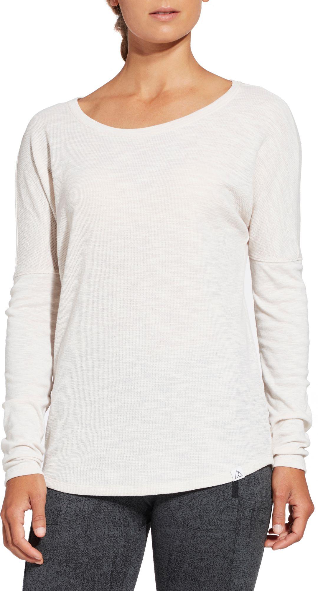 Alpine Design Women's Thermal Long Sleeve Shirt, Size: XS, Pastel Parchment Heather thumbnail