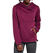 Alpine Design Women's Sweater Face Asymmetrical Fleece Hoodie