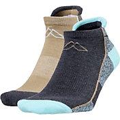 Alpine Design Women's 2 Pack Lowcut Hiking Socks