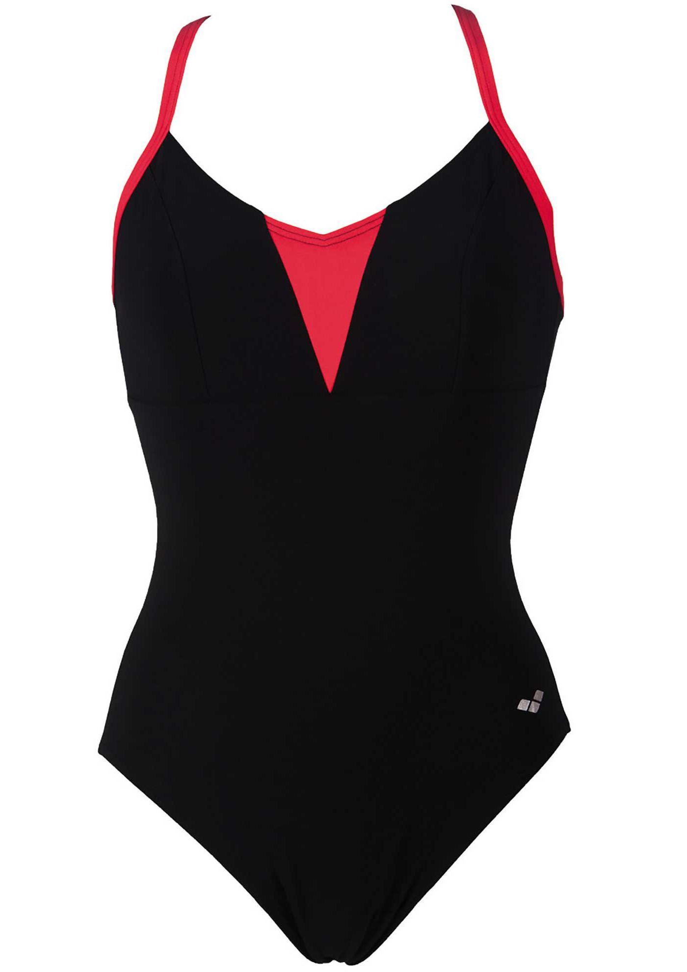arena Women's BodyLift Liz Embrace Cross Back Shapewear Swimsuit