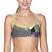 arena Women's BE Bandeau Racerback Bikini Top