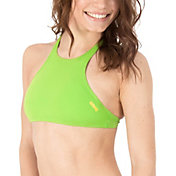 arena Women's THINK Crop Racerback Bikini Top