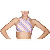arena Women's THINK Crop Racerback Bikini Top