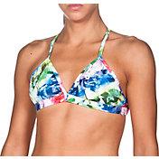 arena Women's Glitch Tie Crossback Bikini Top