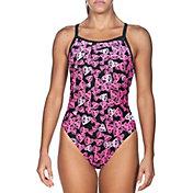 arena Women's Heart Challenge Back One Piece Swimsuit