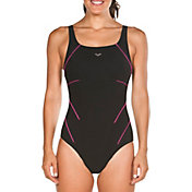 arena Women's Jewel Wing Back One Piece Swimsuit
