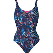 arena Women's Lauren Wing Back One Piece Swimsuit