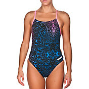 arena Women's Storm Booster Back One Piece Swimsuit
