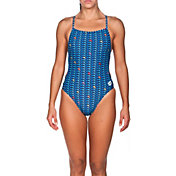 arena Women's Dolphin MaxLife Booster Back Swimsuit