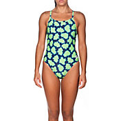 arena Women's Pow Challenge MaxLife Thin Strap Open Back Swimsuit