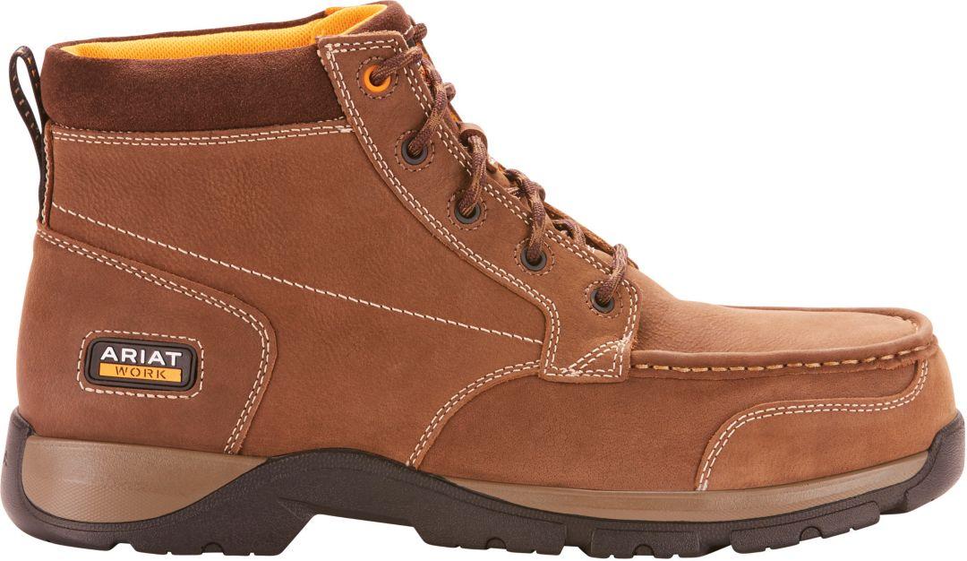 09b899260fa Ariat Men's Edge LTE Chukka Composite Toe Work Boots