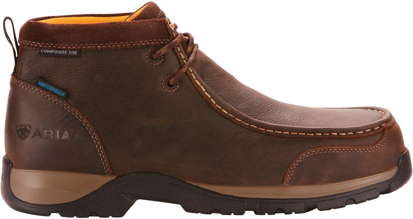 Ariat Men's Edge LTE Moc Waterproof Composite Toe Work Boots