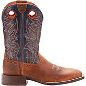 Ariat Men's Sport Sidebet Dist Western Work Boots