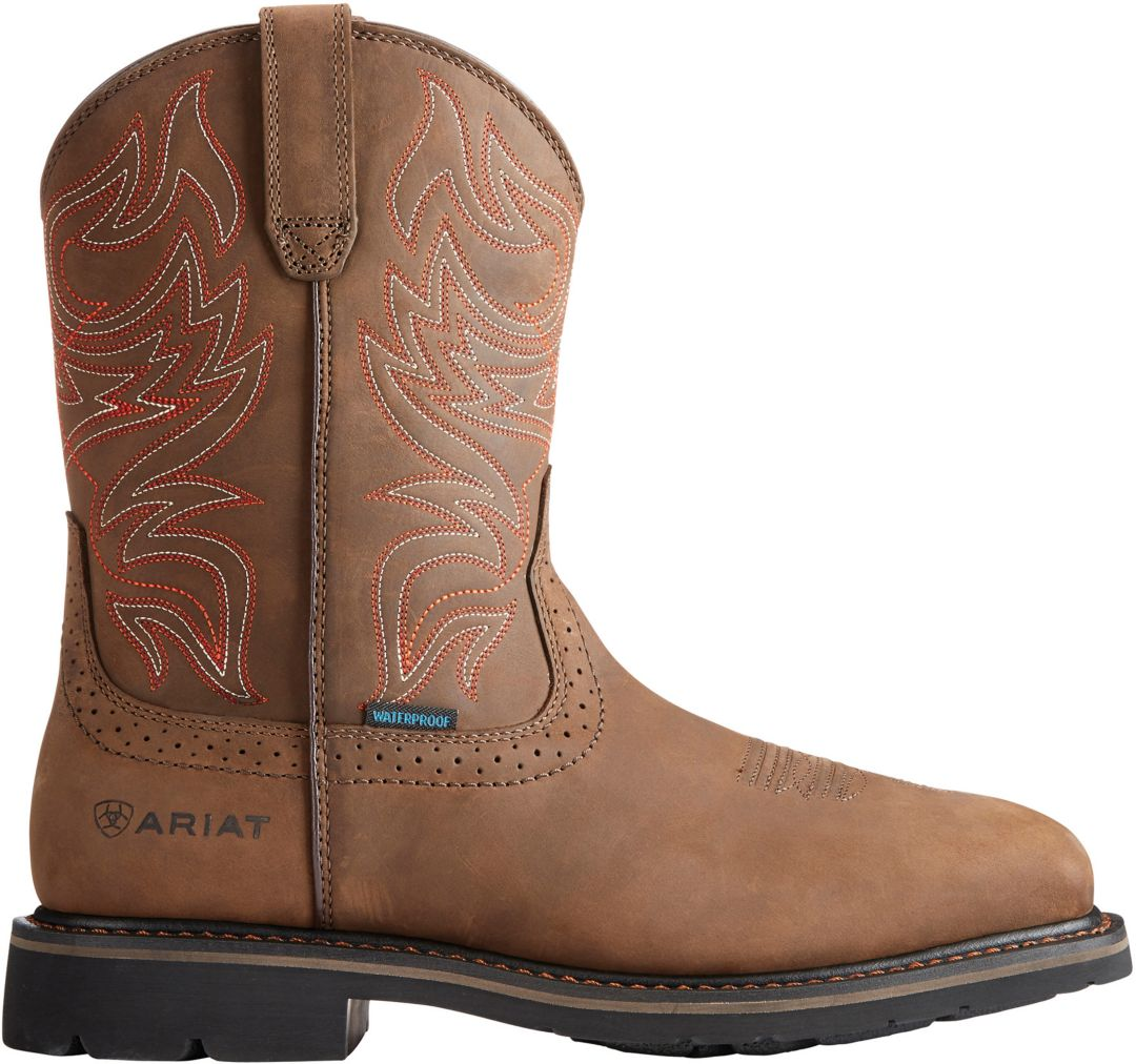 853dc0f0cc2 Ariat Men's Sierra Delta Waterproof Western Work Boots