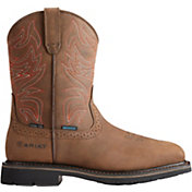 Ariat Men's Sierra Delta Waterproof Steel Toe Western Work Boots