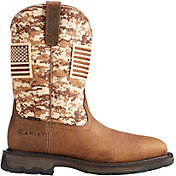 Ariat Men's Workhog Patriot Steel Toe Work Boots