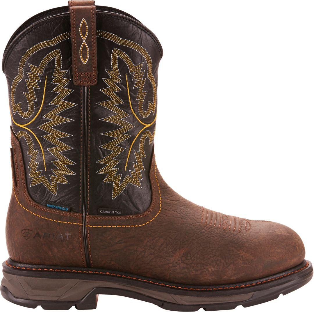 06db044751b Ariat Men's Workhog XT Waterproof Composite Toe Western Work Boots