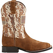 Ariat Kids' Sport Patriot Western Boots