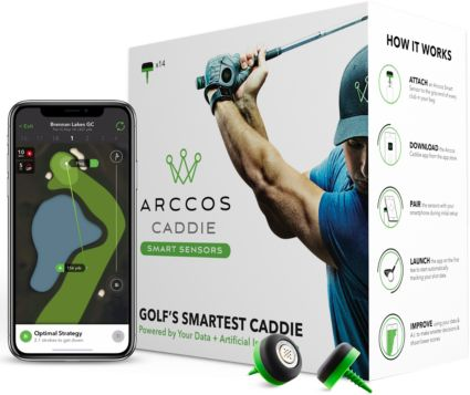 Arccos Caddie Smart Sensor Golf Performance Tracking System