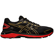 ASICS Men's GT 2000 7 Running Shoes in Black/Red/Gold