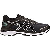 ASICS Men's GT 2000 7 Running Shoes in Black/White