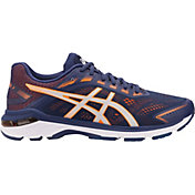 ASICS Men's GT 2000 7 Running Shoes in Blue/Orange