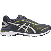 ASICS Men's GT 2000 7 Running Shoes in Grey/Yellow