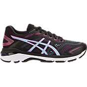 ASICS Women's GT 2000 7 Running Shoes in Black/Sky Blue