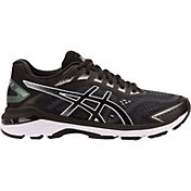 ASICS Women's GT 2000 7 Running Shoes in Black/White