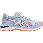 ASICS Women's GT 2000 7 Running Shoes in Blue/White/Orange