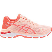 ASICS Women's GT 2000 7 Running Shoes in Pink/Coral/White