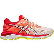 ASICS Women's GT 2000 7 Running Shoes in White/Pink