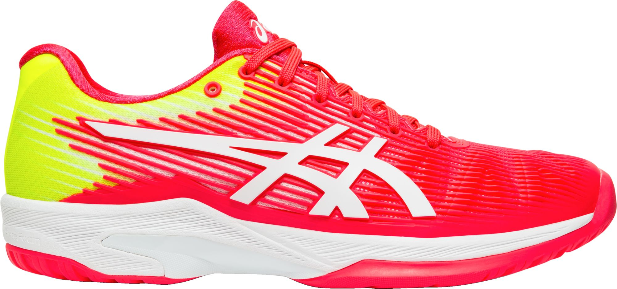 asics shoes womens wide neck